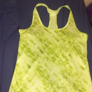Green Workout Tank!
